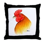 Gamecock Pea Comb Throw Pillow