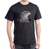 Northern Goshawk with title Black T-Shirt