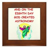 astronomy Framed Tile
