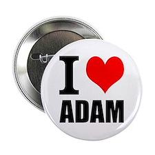 """I Heart Adam 2.25"""" Button (10 pack)"""