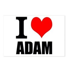 I Heart Adam Postcards (Package of 8)