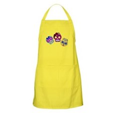 Roly Polly Skulls Apron