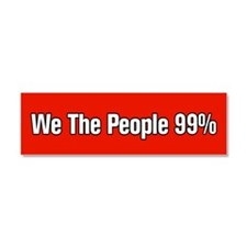 We The People 99% Car Magnet 10 x 3