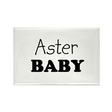 Aster baby Rectangle Magnet