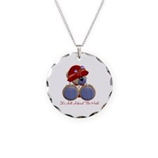 RedHat TeddyBear Necklace