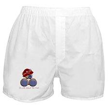 RedHat TeddyBear Boxer Shorts