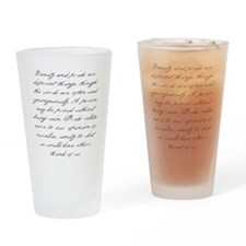 Pride and Prejudice - Vanity Drinking Glass