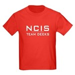 NCIS Team Deeks Kids Dark T-Shirt