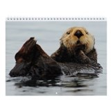 Alaskan Sea Otter Wall Calendar