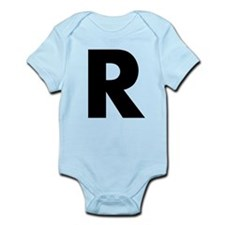 Letter R Infant Bodysuit