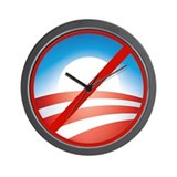 NOBAMA Wall Clock