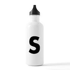 Letter S Water Bottle