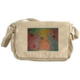 Rainbow swirl Messenger Bag