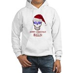 Merry Christmas Balls Hooded Sweatshirt