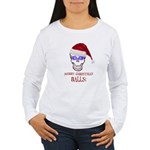 Merry Christmas Balls Women's Long Sleeve T-Shirt