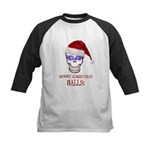 Merry Christmas Balls Kids Baseball Jersey