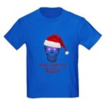 Merry Christmas Balls Kids Dark T-Shirt