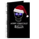 Merry Christmas Balls Journal