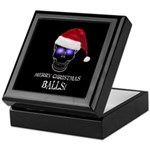 Merry Christmas Balls Keepsake Box