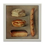 Bread Variety Tile Coaster