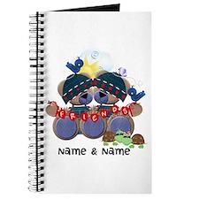 Customizable Bear Friends Journal