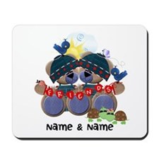 Customizable Bear Friends Mousepad