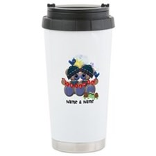 Customizable Bear Friends Travel Mug