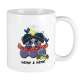 Customizable Bear Friends Small Mugs