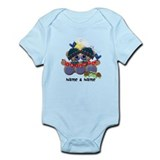 Customizable Bear Friends Infant Bodysuit