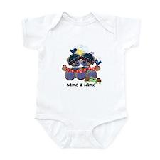 Customizable Bear Friends Infant Bodysuit