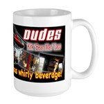 Whirly Dudes Large Mug