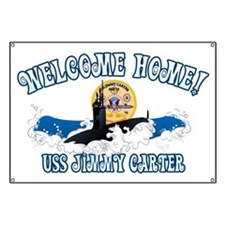 Welcome USS Carter! Banner