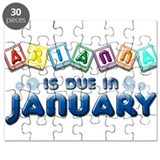 Arianna is Due in January Puzzle