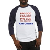 PRO-GOD, PRO-LIFE, PRO-GUN, PRO-COUNTRY... Basebal