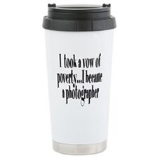 Vow of Poverty Travel Mug