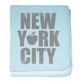 New York City baby blanket