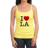 I Heart Las Angeles Jr.Spaghetti Strap