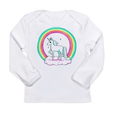 Unicorn Long Sleeve Infant T-Shirt