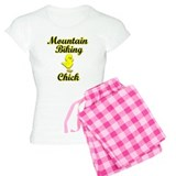 Mountain Biking Chick pajamas