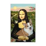 Mona - Corgi (Pembr-L) Mini Poster Print