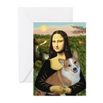 Mona - Corgi (Pembr-L) Greeting Cards (Pk of 20)