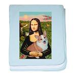 Mona - Corgi (Pembr-L) baby blanket