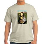 Mona - Corgi (Pembr-L) Light T-Shirt