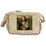 Mona - Corgi (Pembr-L) Messenger Bag