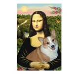 Mona - Corgi (Pembr-L) Postcards (Package of 8)