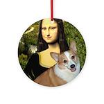 Mona - Corgi (Pembr-L) Ornament (Round)
