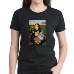 Mona - Corgi (Pembr-L) Women's Dark T-Shirt