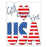 God Bless the USA Small Poster
