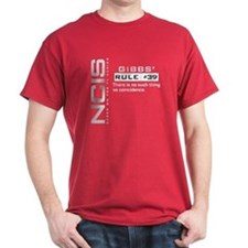 NCIS Gibbs' Rule #39 T-Shirt