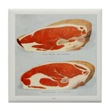 Steak Print Tile Coaster